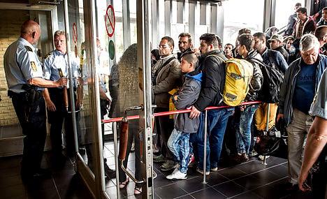 Denmark sends refugees back to Germany