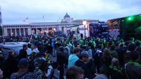 Cannabis activists to march through Vienna