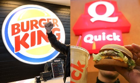 Burger King to swallow up Quick in France