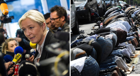 Le Pen to face trial for Muslim prayers rant