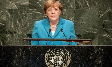Merkel: UN Security Council needs reform
