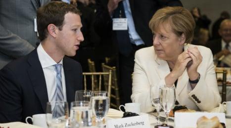 Zuckerberg reassures Merkel on hate speech