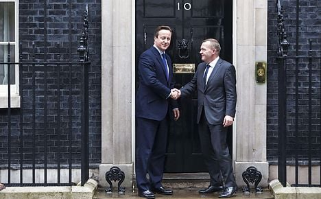 Løkke and Cameron find common ground on refugees and welfare