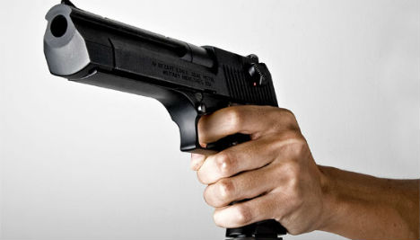 Woman on trial after shooting herself in head