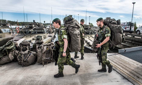 More Swedes want to join Nato than stay out