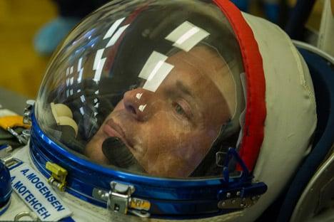 Denmark's first astronaut prepares for blast-off