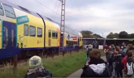 Hero bus driver saves 60 children from train crash