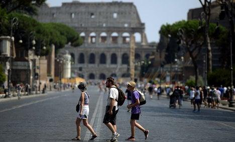 Tourists fume as unions shut down Colosseum