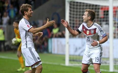 Germany seek Scotland win to seal EC spot