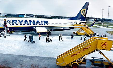 Ryanair changes course at Billund Airport