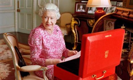 The German designer behind the Queen's dress