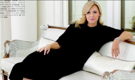 Valerie Trierweiler causes stir with new look