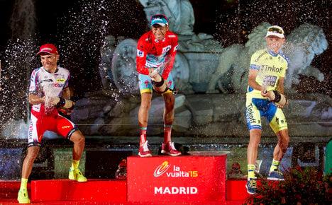 Italian Fabio Aru wins Spain's Vuelta