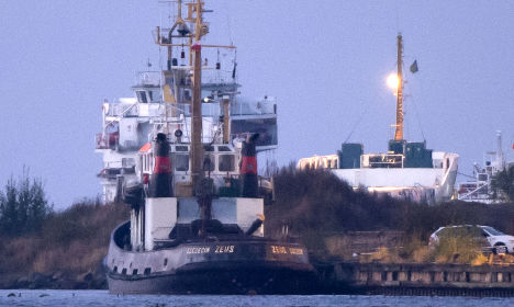 Fire on Swedish ship leaves four people dead