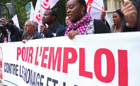 French jobless rate resumes relentless rise