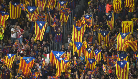 Barcelona football club will remain 'neutral' in the debate on Catalonia