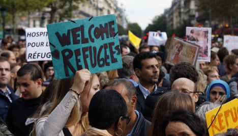 France won't open arms to refugees like Germany
