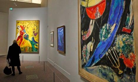 Russia blocks Sweden from Chagall art loan