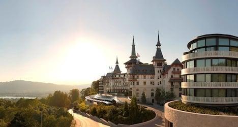 Zurich's Dolder Grand named best Swiss hotel