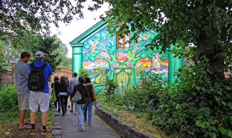 'Joint king' among those arrested in Christiania