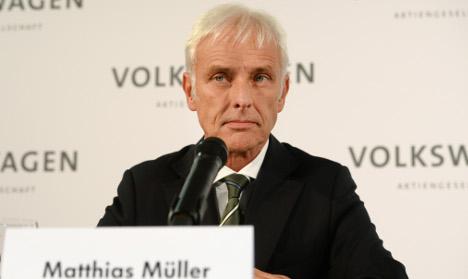 VW names Porsche chief Müller as new CEO