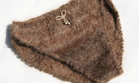 Hairy Swedish panties sew up artist's reputation