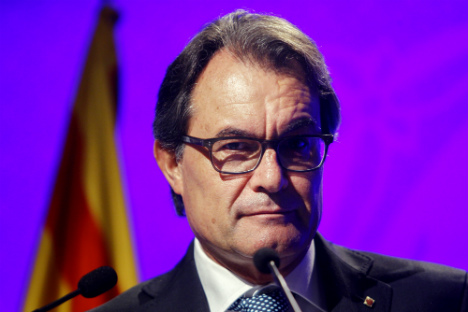 Artur Mas: parliament majority is all we need to declare independence