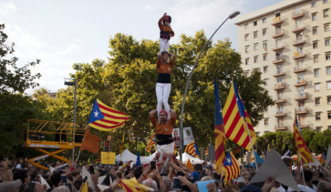 Foreigners within Catalonia adopt fervour of independence movement