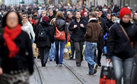 Migrants reverse German population decline