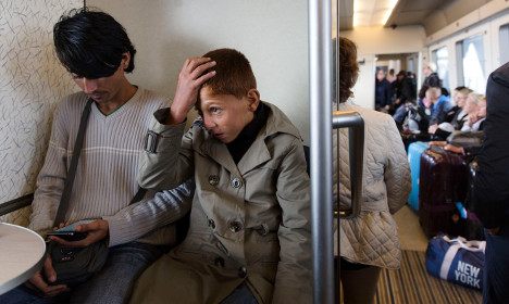 Refugees threaten to jump off ferry in Sweden