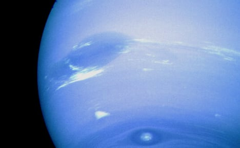 The German astronomer who found Neptune
