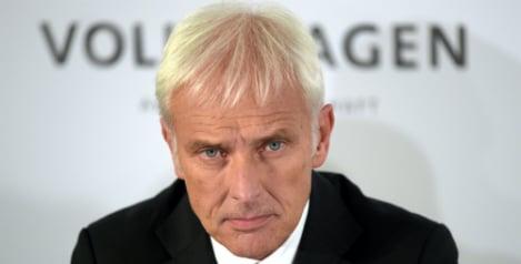 New VW boss says scandal is 'severest test'