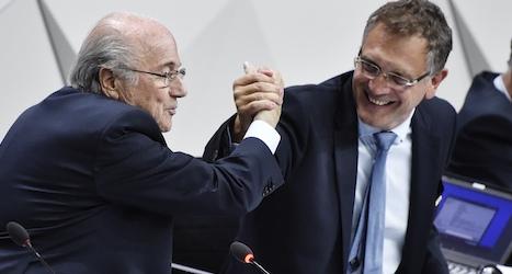 Fifa suspends Blatter's right-hand man