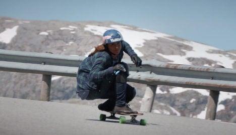 Video of Swedish longboarder goes viral