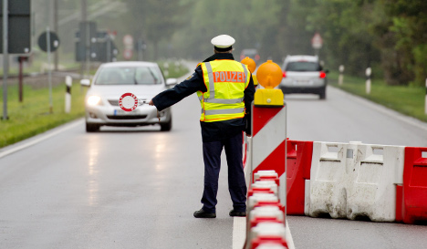 Germany boosts checks on part of French border