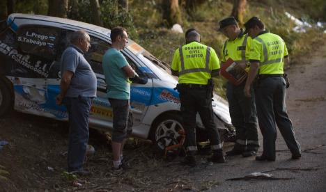 12-year-old girl becomes seventh victim of A Coruña rally crash