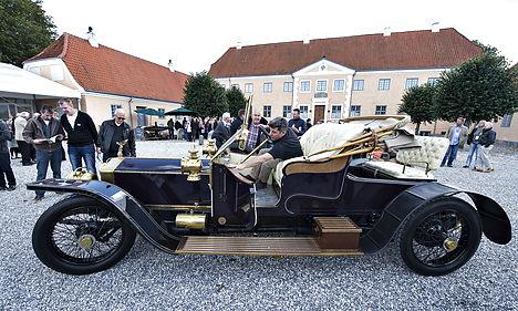 Dane's vintage car collection nets millions