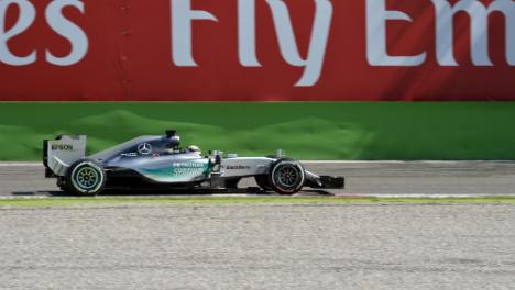Hamilton claims pole at Italy Grand Prix
