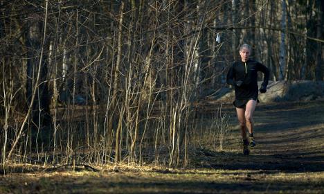 Swedish jogger praised for viral feminist post