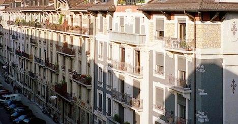 Flat vacancy rate rises across Switzerland