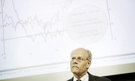 Sweden keeps record negative interest rate
