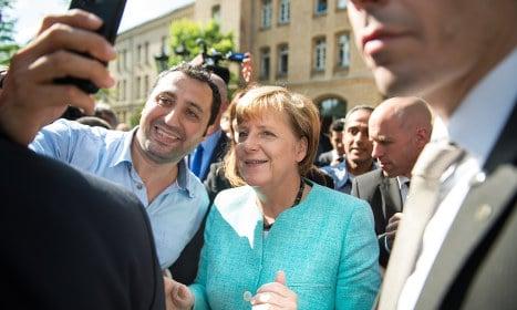 Poll: Merkel's popularity hit by refugee crisis