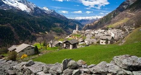 Soglio named most beautiful Swiss village