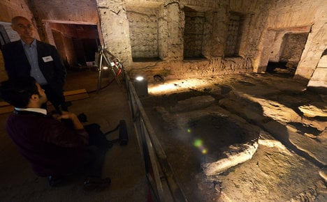 Sixth century home unearthed in Rome