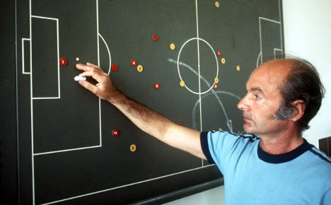 Football legend Dettmar Cramer dies aged 90