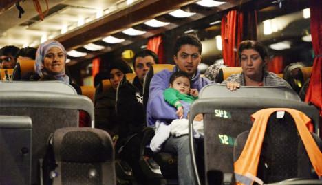 Mass refugee arrivals don't scare Germans