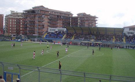 Italy police target balcony match-goers
