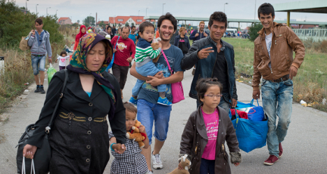 Syrian refugees bypass Switzerland for EU states
