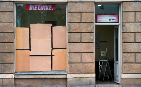 Left Party suffers attack in neo-Nazi heartland
