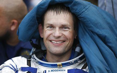 Denmark's first astronaut back on Earth